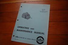 Miller Welder Mhfc L1 Wire Feeder Control Operation Maintenance Manual Operator