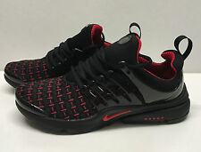 Nike Air Presto Men's Size 8.5 Black/Red Trainers Shox Running Shoes * BRAND NEW