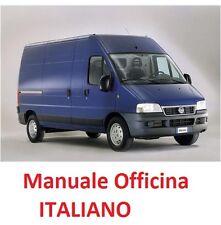 Fiat DUCATO (244) Seconda serie 2° Restyling 2002/2006 Manuale Officina ITALIANO