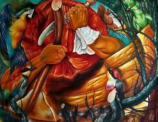Cuba Original Art Painting Canvas YOANDRIS PEREZ BATISTA 115