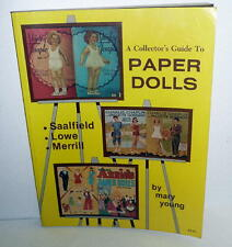 Vintage 1980 Softcover Book A Collector'S Guide To Paper Dolls *Vg Condition