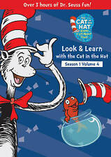 Cat In The Hat: Look & Learn Season One 1 Volume 4 Set (DVD, 2013) Free Shipping