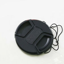 KE_ 58mm Center Pinch Snap on Front Lens Cap Cover for Canon Nikon Son String