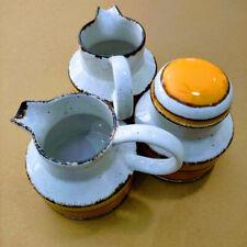 VTG Midwinter Stonehenge SUN 12oz Creamer PItcher or Sugar Bowl & Lid YOU PICK