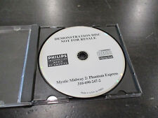 Philips CDI Mystic Midway 2 Phantom Express Demostration Disc Demo Disc RARE