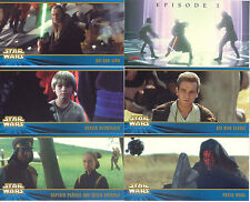 STAR WARS EPISODE 1 SERIES 2 WIDEVISION 1999 TOPPS COMPLETE BASE CARD SET OF 80