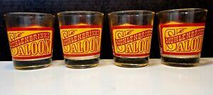 Set 4 Muhlenbrink's Saloon PJ Kenney's Saloon Whiskey Glasses Barware Rocks...