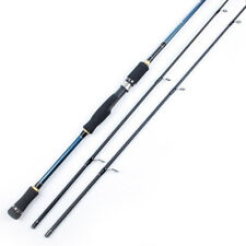 2 Tips Spinning Fishing Rod 100% Carbon Surper Hard 2 Sections Fishing Pole New
