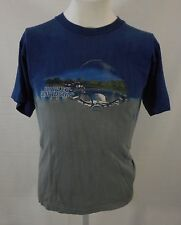 Harley Davidson Appleton Tennessee Tie Dye blue t-shirt Sz M Motorcycle Outlaw