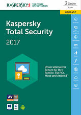 SW Kaspersky total Security 2017 3gerte Upgrade