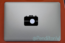 "Camera Photo for Apple Macbook Air Pro 11 13 15 17"" Laptop Vinyl Decal Sticker"