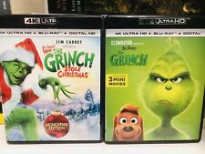How the Grinch Stole Christmas + Illumination The Grinch 4K Ultra Hd Uhd Blu-ray