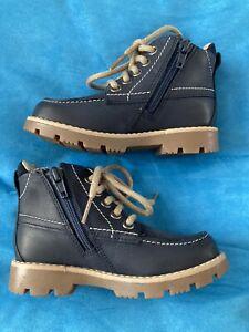 Clarks Boys Boots Size 7g Eur 24