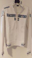 Kappa Racing Metro 92 Blanc Veste Homme-UK taille S