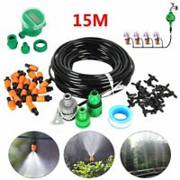 Water Irrigation Kit Set Micro Drip Watering System Automatic Plant Garden Tool