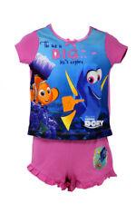 Officially Certified Disney Finding Dory Pink & Blue Shirt & Shorts Pyjama Set