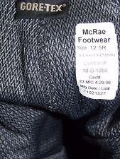 Military Boots 12.5 R Sage Green McRae Waterproof USAF Flight GoreTex 353 Issued
