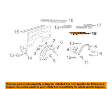 TOYOTA OEM 04-06 Tundra Pickup Bed-Decal Sticker Left 759970C030A1