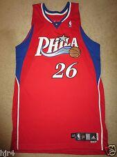 Kyle Korver #26 Philadelphia 76ers Adidas 2007 NBA Game Worn Used Jersey 46