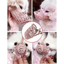 Plastic Basket Dog Muzzle Cage Mouth Mesh Lightweight Anti-Biting