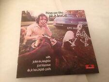 Jack Bruce - Things We Like CD (2003) Jazz Rock Blues (Cream) 1970