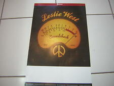 Leslie West Promo Poster Soundcheck 2015 Event Poster Mountain