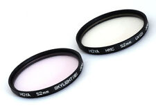 UV and Skylight Filters 52mm - Excellent!