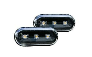 For Ford Fiesta MK5 Focus MK2 C-Max MK1 Galaxy Black LED Side Indicators s