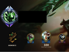 [EUW] League of Legends account 111 champions diamond 4 rare skins rare icons