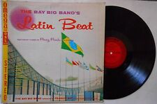 """THE BIG BAY BAND'S LATIN BEAT 33 RPM 12"""" vinyl Record 1 Owner"""