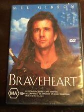 BRAVEHEART MEL Gibson Like New DVD R4