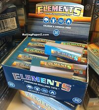 NEW FULL SEALED BOX ELEMENTS TIPS Counter Top Display contains 50 pks/2500 total