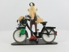 FIGURINE JOE BAR TEAM MATHIEU ZALEM VELOSOLEX RESINE 1/18 TIRE BANDE DESSINEE