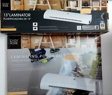 13 Thermal Laminator Hot Or Cold With Starter Kit Of Laminating Pouches