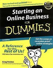 Starting an Online Business for Dummies® Paperback Greg Holden