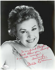 GALE STORM, ACTRESS (DECEASED)  8X10 SIGNED LARGE INSCRIPTION JSA  COA #R66831