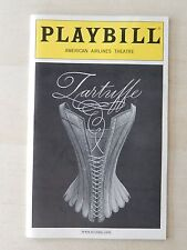 January 2003 - Roundabout Theatre Playbill w/Ticket - Tartuffe - Jeffrey Carlson