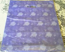 """100 Large Gift Bags Pouches Roses Violet Blue Size 14"""" X 17"""""""