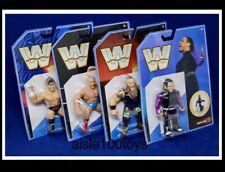 WWE Retro Series 8 Set Jeff Hardy, Braun Strowman, Zack Ryder, Iron Sheik Mattel