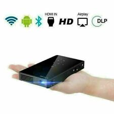 Mini DLP Android HD Projector 4K Wifi HDMI 1080P Heimkino Beamer HDMI USB SD