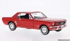 Ford Mustang Coupe 1964 - rot - 1:24 WELLY