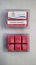 Hand Made Soy Wax Melts - Break Away Clamshell 6 pack - Twisted Cinnamon Flavor