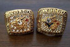 Toronto Blue Jays 1992/93 world championship replica ring set, Bell Carter..NEW