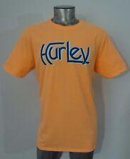 Hurley men's t-shirt pastel orange L new