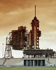 Space Shuttle Columbia on Launch Pad 39A at KSC for STS-4 mission Photo Print