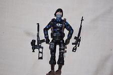 "2008 Hasbro GI Joe 3 3/4"" 1/18 Cobra Night Watch Trooper v1c Accessories SJ-476"