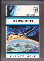 Fleuve Noir Anticipation 492 Les Immortels. PETER RANDA