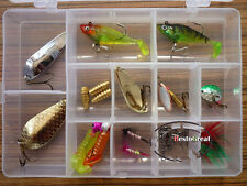 23PCS Fish Spoon Soft Lure connect Hook Fishing Bait with box set