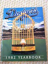 1982 Dodgers Yearbook