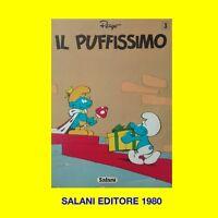 IL PUFFISSIMO SALANI EDITORE N. 3 1980 ORIGINALE D'EPOCA PEYO